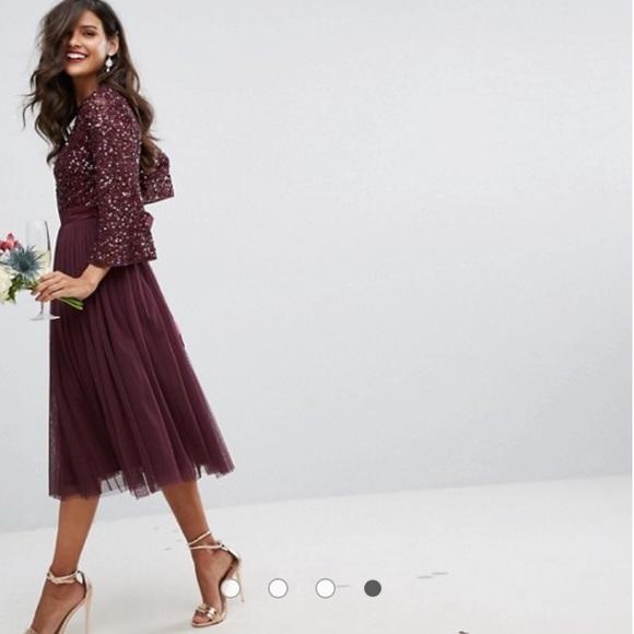 ccadf128ef ASOS Dresses   Skirts - Maya Bell Sleeve Midi Dress